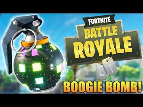 fortnite boogie fortnite battle royale new update boogie bomb