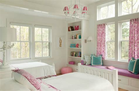 enhance a room with a window seat fine homebuilding built in window seat transitional girl s room liz