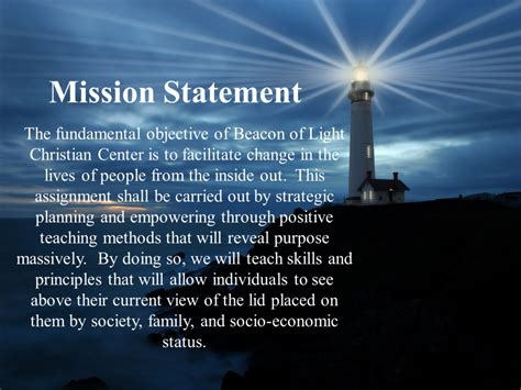 light of mission mission 187 beacon of light christian center