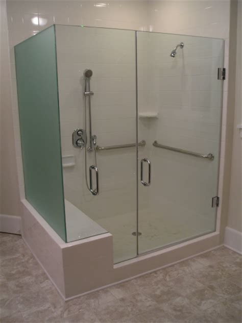 Handicap Shower Door Glass Handicapshower Enclosure Learn More At Http Www Disabledbathrooms Org Handicap Shower