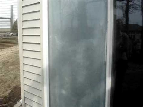sliding glass door with broken seal mpg