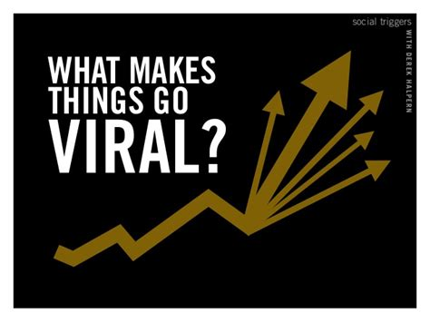 the six things that make stories go viral will amaze and social triggers with derek halpern