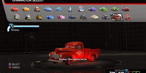 cars 3 driven to win game how to unlock all characters