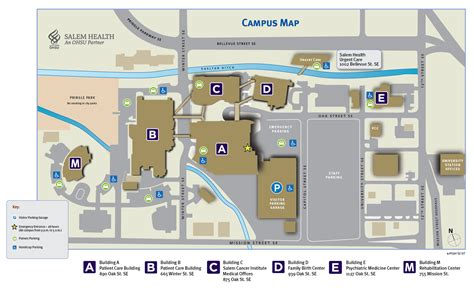 map of oregon hospitals locations salem health salem oregon