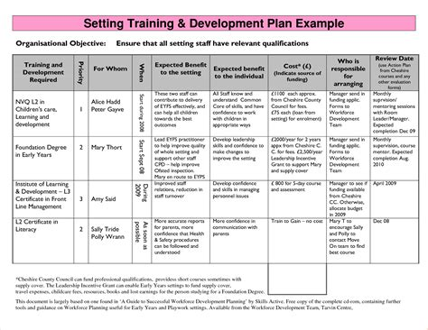 business development plan sle business proposal