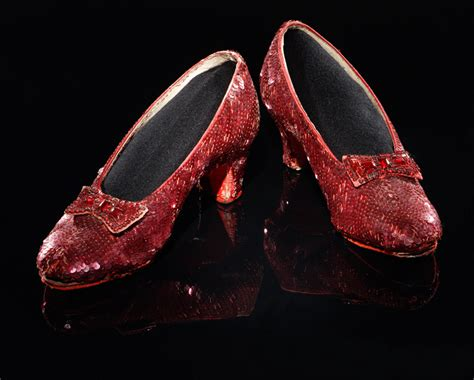 wizard of oz slippers a pair of original ruby slippers the wizard of oz photo