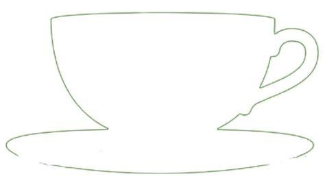 teacup template teacup outline sure cuts a lot