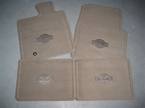 King Ranch Floor Mats by 2005 2006 2007 2008 Ford F 150 King Ranch Floor Mats 4