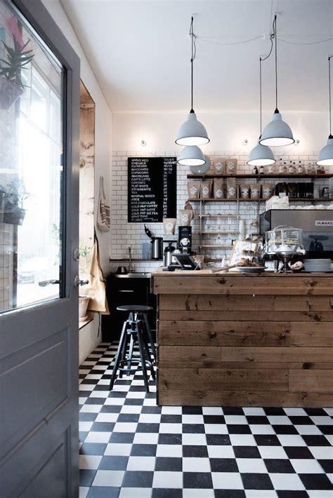 scandinavian theme  cozy coffee shop scandian bar