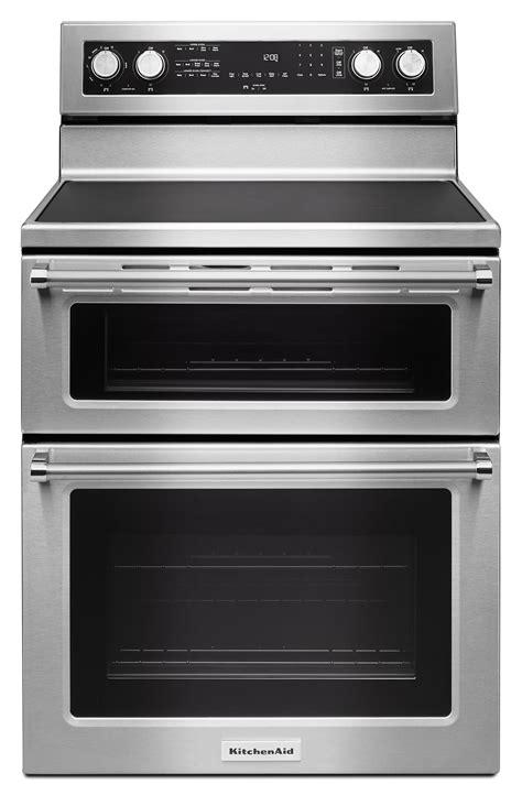 kitchenaid kfed500ess 6 7 cu ft electric oven