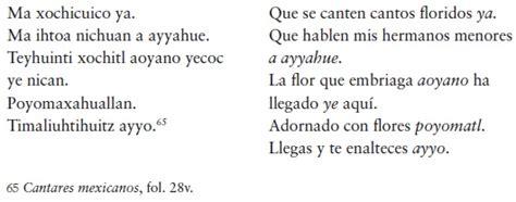 poema en nahuatl y su traduccion newhairstylesformen2014 com poemas en nahuatl y su traduccion poema en n 225 huatl