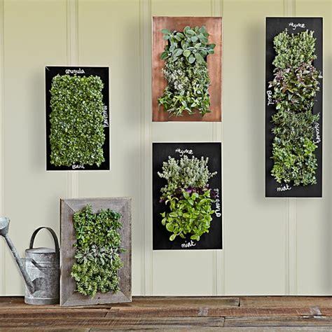 reclaimed barn door vertical wall planter copper vertical wall planter williams sonoma