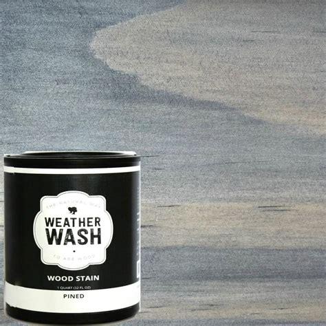 qt pined interiorexterior weatherwash aging stain