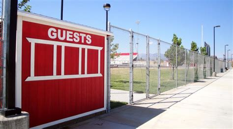 Football Fence Commercial by High Desert Commercial Fence Installation All American