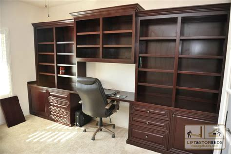 Custom Home Office Furniture Storage Beds Wall Beds Beds Diy Lift Stor Beds