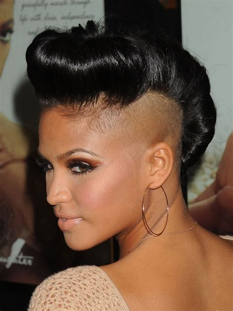 hair pieces to wear with fo hawk hairstyle trendy mohawk haircuts hairstyles for modish girls