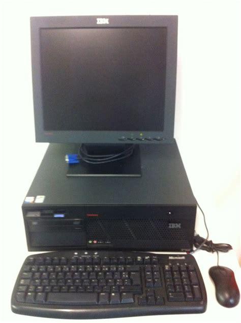 ordinateur de bureau complet ibm m51 ecran lcd 17