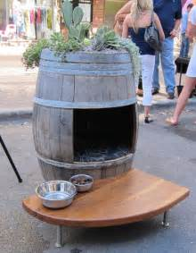 wine barrel dog house stylish dog houses for pered pooches