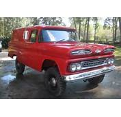 1961 Chevrolet Apache 4&2154 Panel Truck For Sale