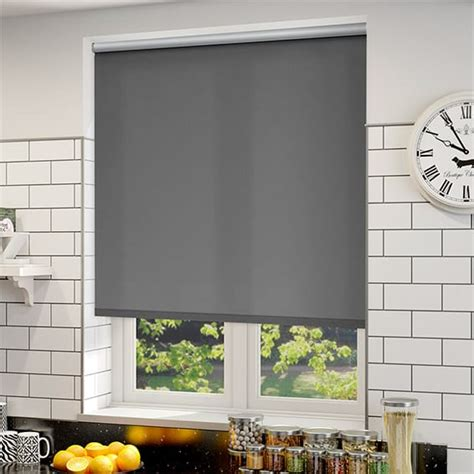 Energy Saving Roller Blinds thermal plus city grey energy saving roller blind