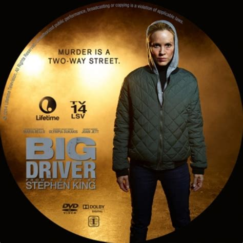 Watch Big Driver 2014 Big Driver Dvd Covers Labels By Covercity