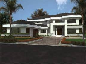 Contemporary House Plan by Design Modern House Plans 3d