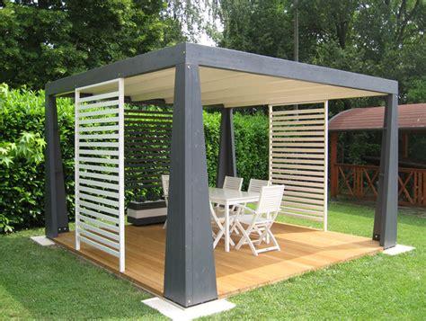 costruzione gazebo in legno gazebo in legno moderno ispirazione design casa