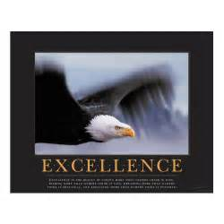 Excellence eagle motivational poster all motivational posters