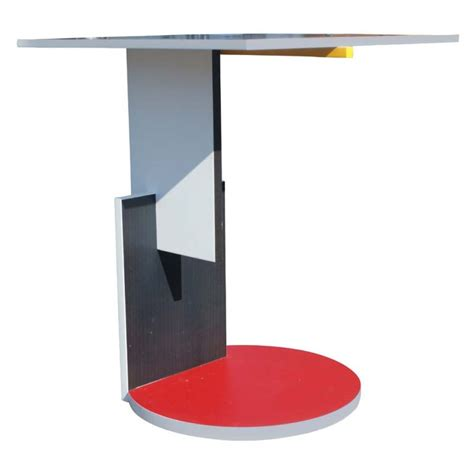 gerrit rietveld schroeder house side table image 3