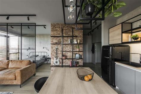 post industrial apartment in warsaw exhibiting a clean and the best 100 industrial apartment image collections