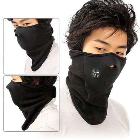 Sale Masker Sepeda Motor Lari aliexpress buy winter cycling mask thermal fleece half mask windproof neck warm