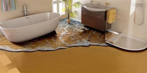 easy bathroom flooring ideas total guide to 3d flooring and 3d styles flooring in the bathroom interior decoratinons 1