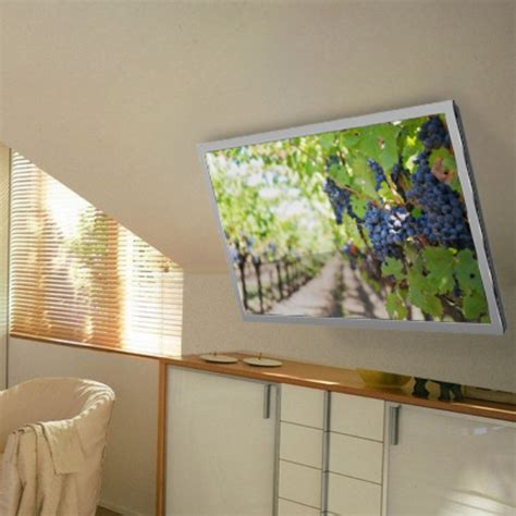 soportes tv techo soporte de techo para televisores altura ajustable tv