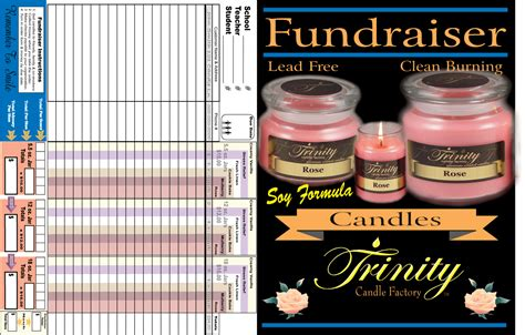 Raiser Background Check Candle Factory Fundraising