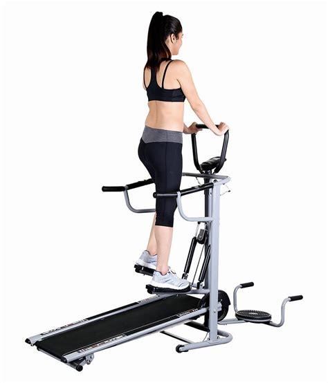 Alat Fitnes Ez Vibe treadmill manual bfit 6in1 alat fitnes olahraga lari membakar lemak tubuh