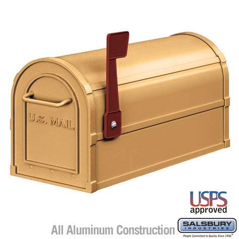 mailboxes for salsbury industries 4850a brs antique rural mailbox