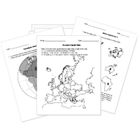 Free Printable World History Worksheets Tests And Activities