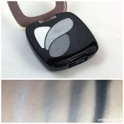 L Oreal White Eye l oreal color riche eyeshadow palette grey and