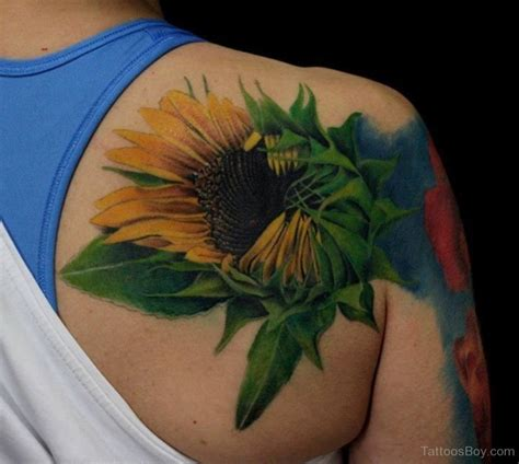 sunflower watercolor tattoo sunflower tattoos designs pictures page 2