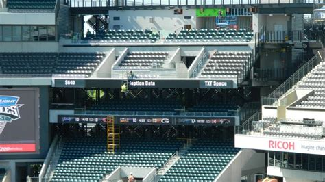 lincoln financial field sca club suite philadelphia eagles near completion of 125m stadium