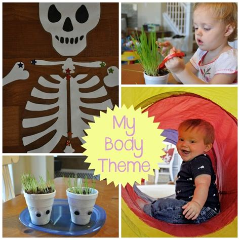 themes about playing god my body preschool theme preschool and toddler all