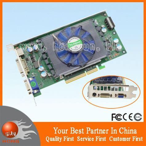 Vga Card Nvidia Geforce 2gb Ddr2 100 new nvidia geforce 6800gt agp 512mb 128bit ddr2 s vga dvi graphics card free