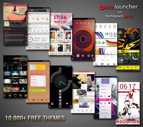 themes doraemon buzz launcher featured android app review buzz launcher personalization