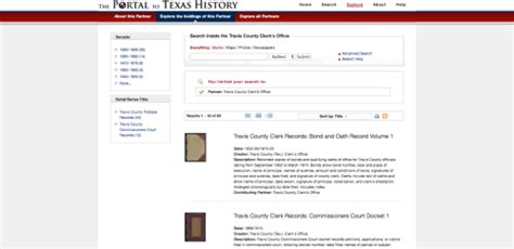 Travis County Probate Court Records Research On The Portal To History Travis County Archives