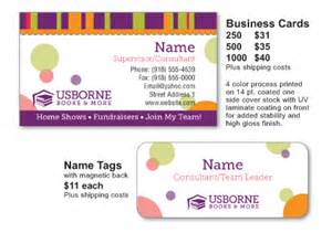 usborne business cards usborne books consultants moxie promoshop