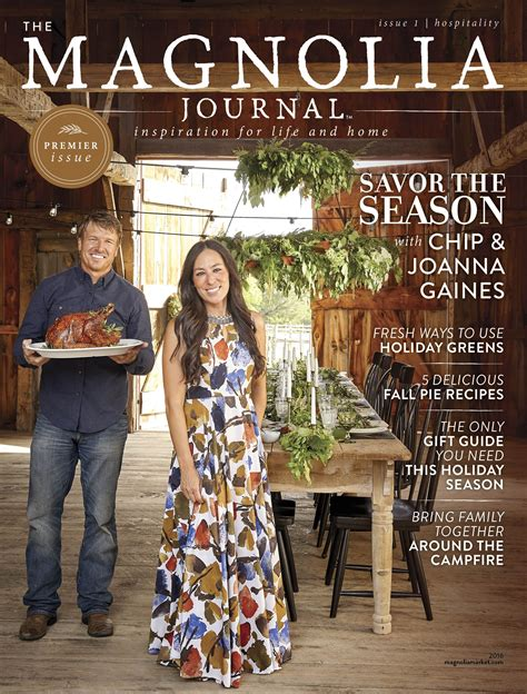 Magnolia Gaines | first look chip and joanna gaines new mag the magnolia