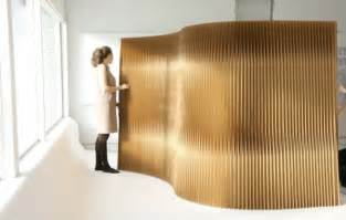 Raumteiler Diy by Flexibler Raumteiler Aus Papier Die Moderne Trennwand