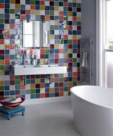Colored Bathroom Designs by 25 Impressive Multi Colored Tile Bathroom Design Ideas