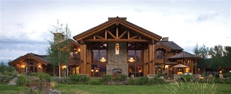 luxurious home plans precisioncraft luxury timber and log homes