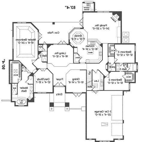 four bedroom ranch house plans four bedroom ranch house plans numberedtype